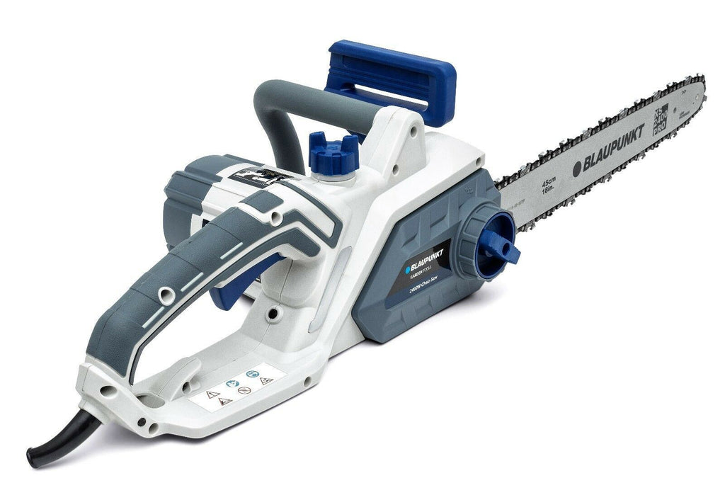 Blaupunkt Electric Chainsaw CS4000 - 2400W - 45cm XS Blade - SDS Tool Free - Automatic Chain Brake