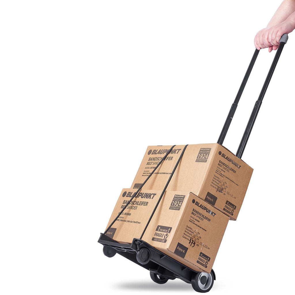 Folding Parcel Trolley PT1000 - 40KG Capacity - Includes Sack Accessory