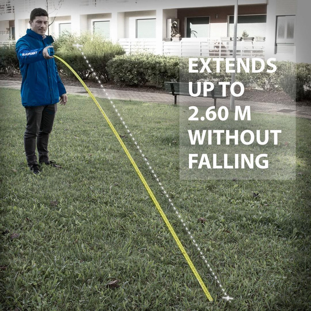 5m Tape Measure JT2000 - Double Sided Markings - Long Standout