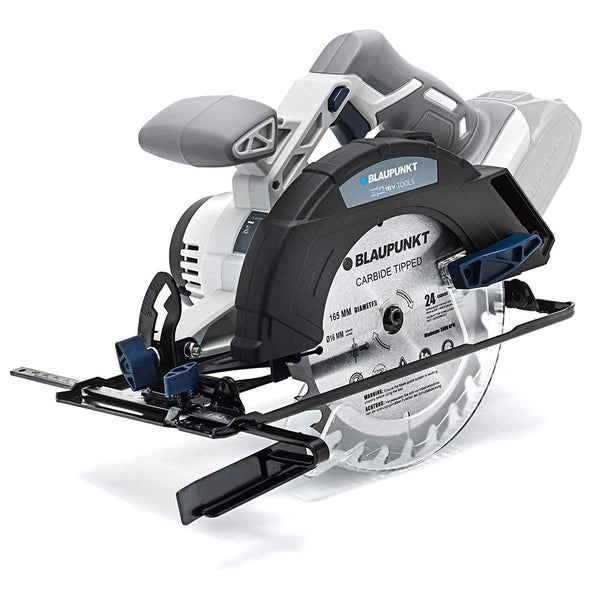 Blaupunkt Cordless Circular Saw BP5385 - Li-Ion 18V - 165mm Blade - Adjustable Depth and Angle Settings -  (No Battery or Charger)