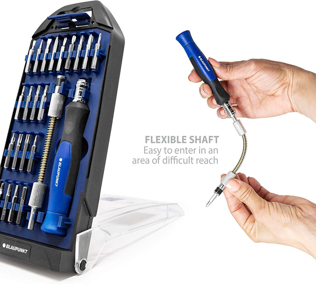 Blaupunkt Precision Screwdriver Set with Flexible Extension