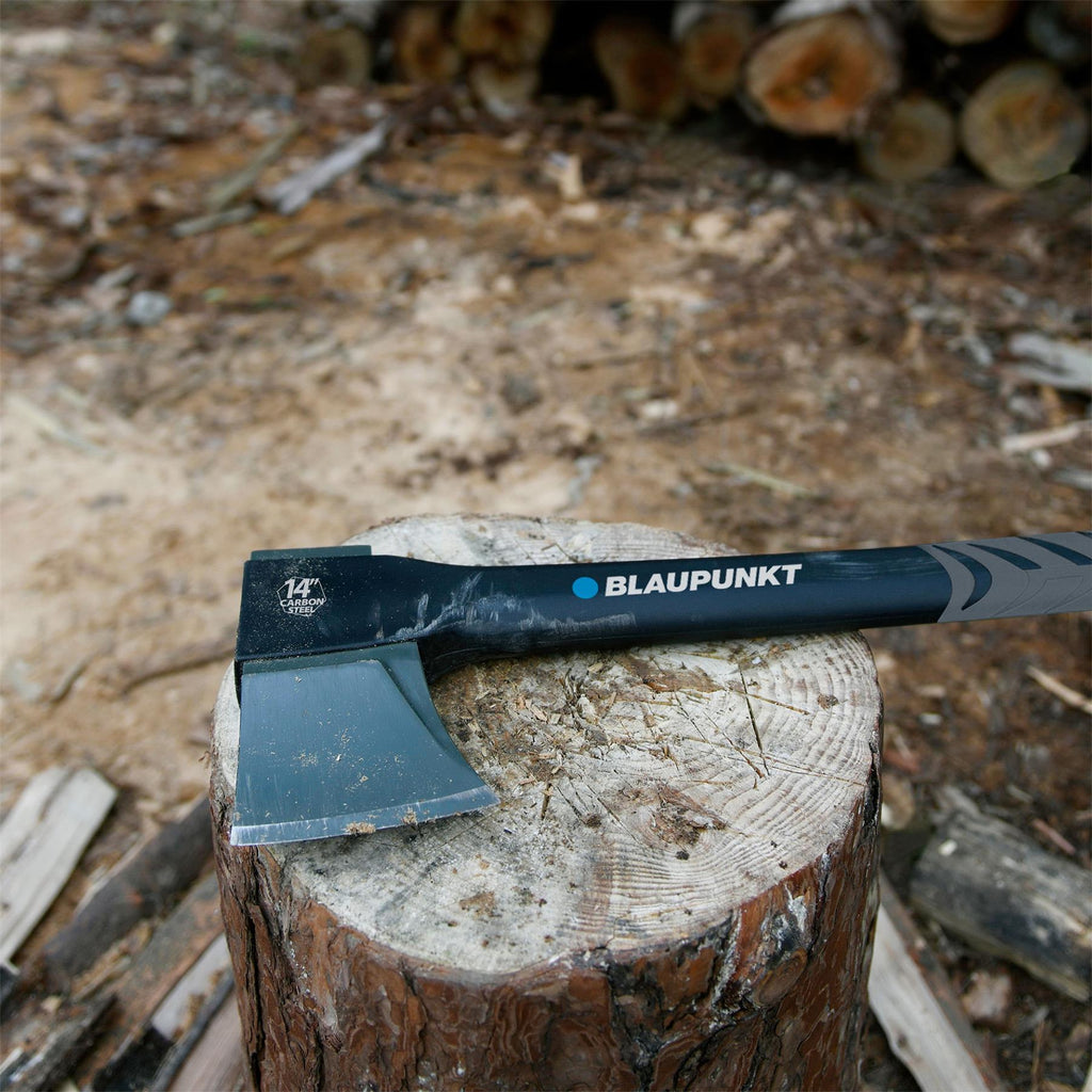 "Hatchet CX5000 Chopping Axe for Wood- 1.5lb - 14"" 36cm  -  With Sharpener"