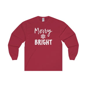 Merry & Bright - Adult Long Sleeve Tee