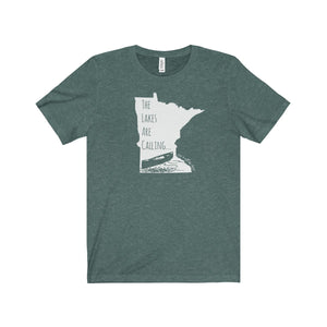 The Lakes Are Calling - Unisex Jersey Tee