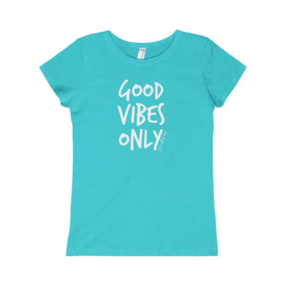 Good Vibes Only - Youth Girl's Tee