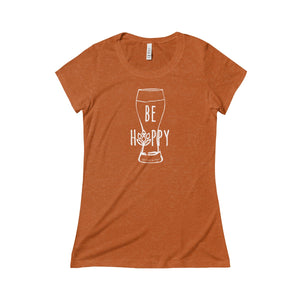 Be Hoppy - Women's Triblend Tee