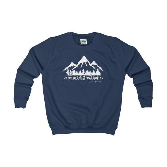 Wilderness Warrior - Kids Sweatshirt