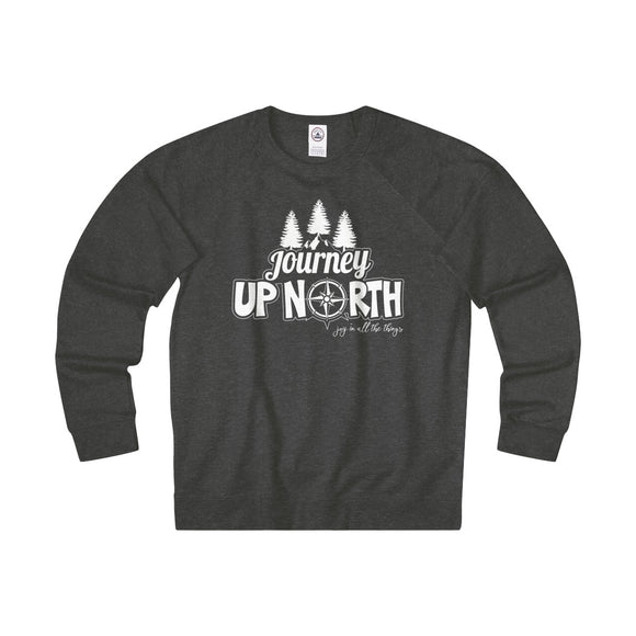 Journey Up North - Unisex French Terry Crew