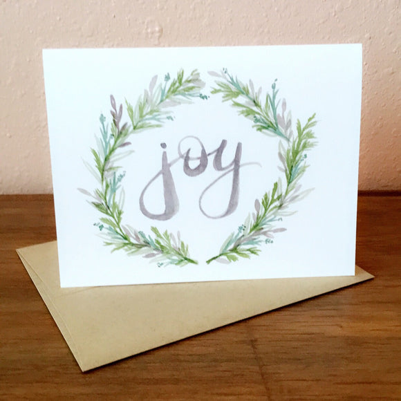 Joy - Greeting Card