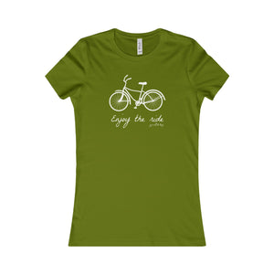 Enjoy the Ride - Women's Favorite Tee