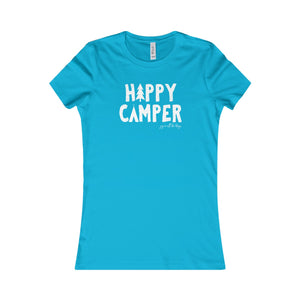 Happy Camper - Women's Favorite Tee