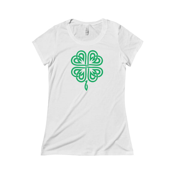 Celtic Shamrock - Women's Triblend Tee