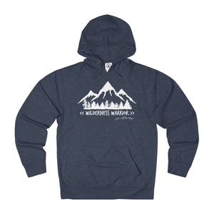 Wilderness Warrior - Adult French Terry Hoodie