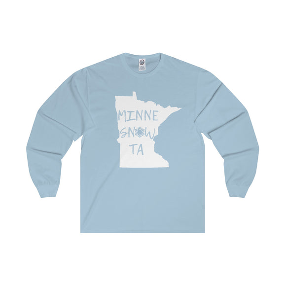MinneSnowTa - Adult Long Sleeve Tee