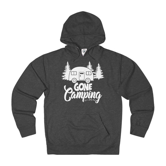 Gone Camping - Unisex French Terry Hoodie - Wholesale