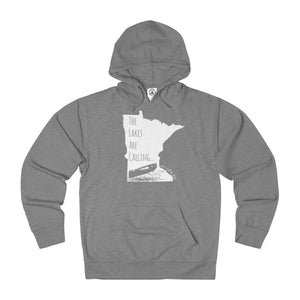 The Lakes Are Calling - Unisex French Terry Hoodie