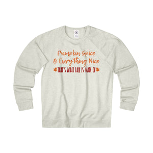 Pumpkin Spice - Unisex French Terry Crew