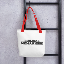 Biblical Womanhood Tote bag