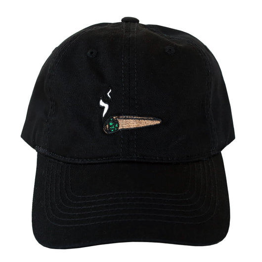 Blunted Dad Cap (Black)