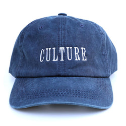 Culture Dad Cap (Navy Wash)