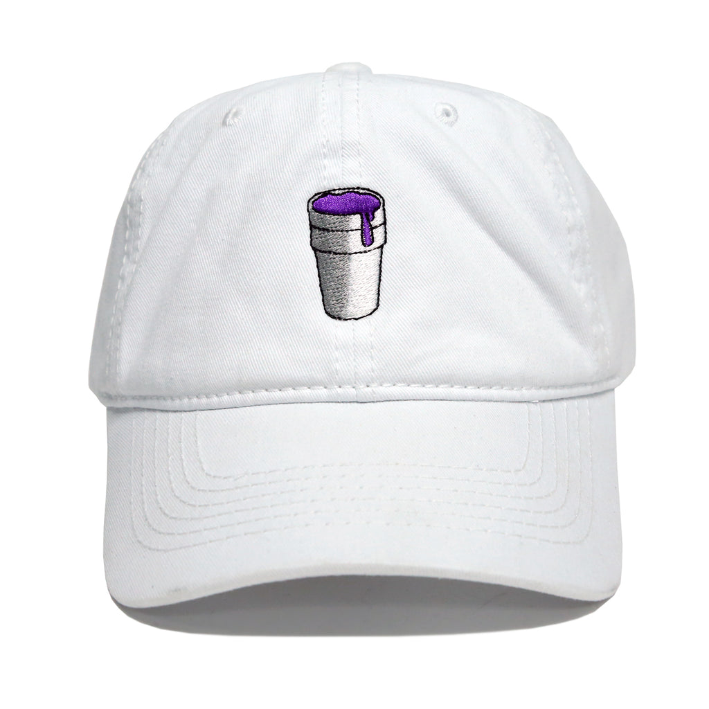 9d2c37a3 Styrofoam Cup Dad Hat (White)