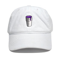 Styrofoam Cup Dad Hat (White)