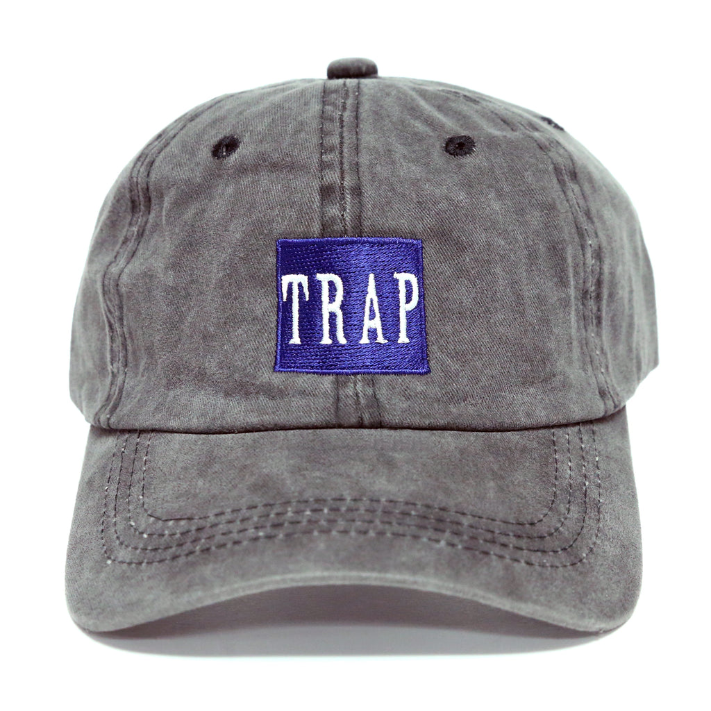 cf34f4a7 Trap Dad Hat (Washed Charcoal)