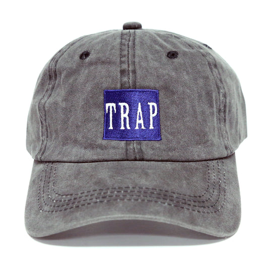 Trap Dad Hat (Washed Charcoal)