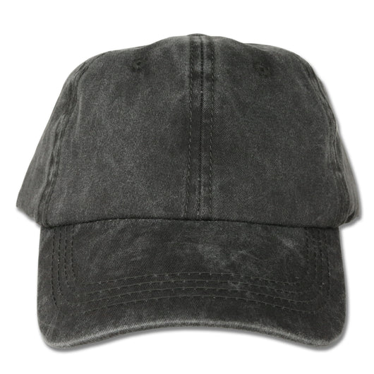 Charcoal Washed Dad Hat