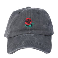 ROSES - Charcoal Hat