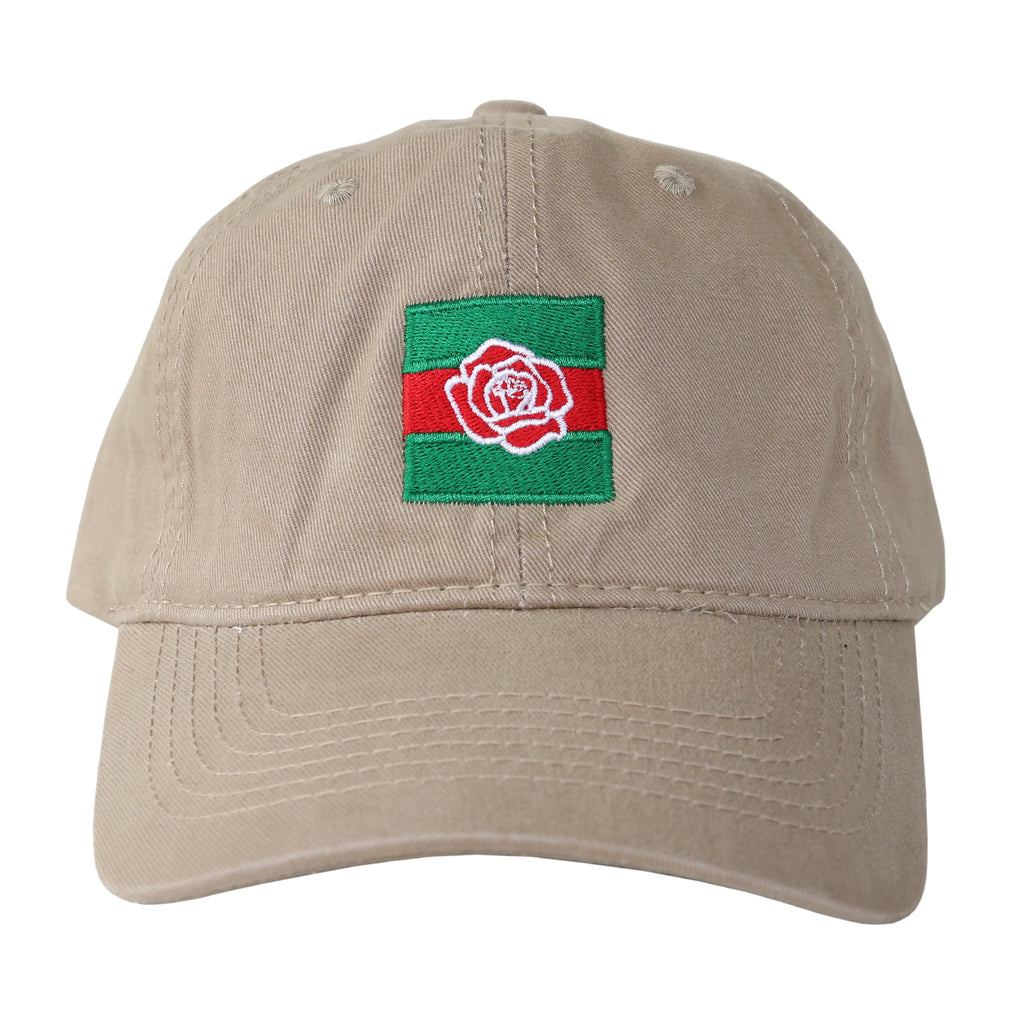 f12784ad Gucci Rose Dad Cap (Tan)