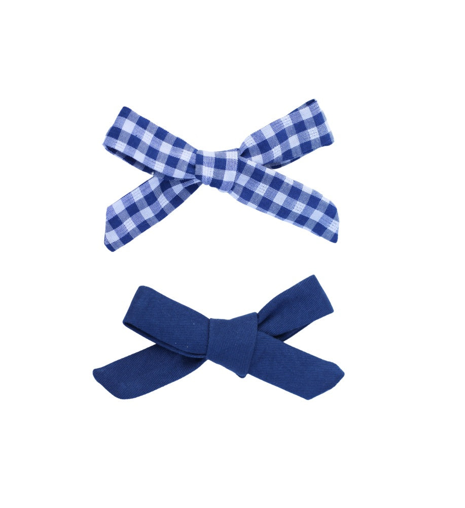 Hair bows - Sailor