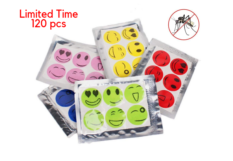 MoskiPatch™ - Natural Mosquito Repellent (Limited Time Special) (120pcs/set)