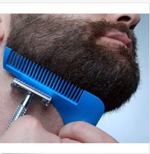 The Beard Bro- Beard Shaping Tool for Perfect Lines & Symmetry