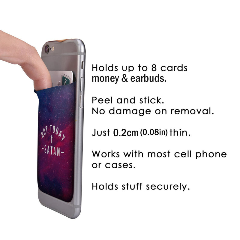 Not Today - Phone Card Wallet