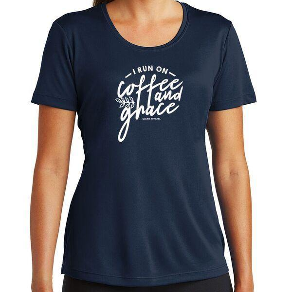 I Run Ladies Performance Tee