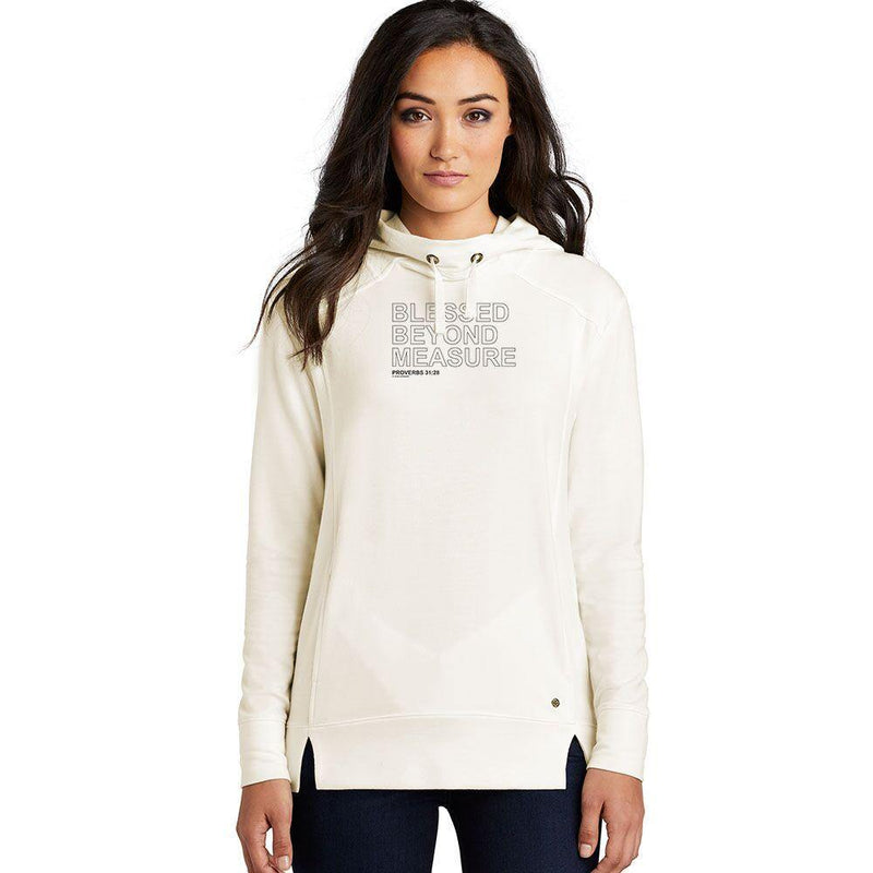 Blessed Beyond Measure Ladies Athletic Hoodies