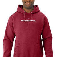 Move Mountains Men Hoodies