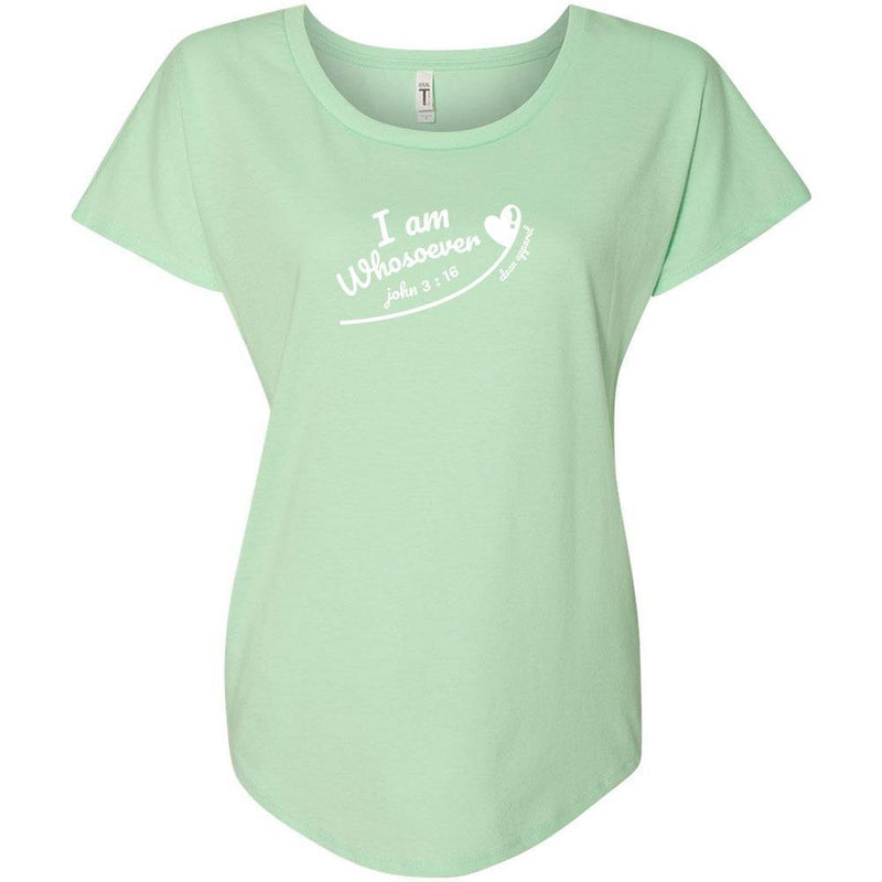 Whosoever Ladies Slouchy Tee