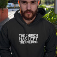 The Church Has Left The Building Men Hoodies