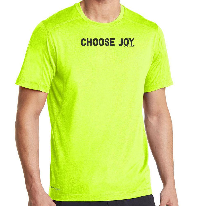 Choose Joy Men Performance Tees