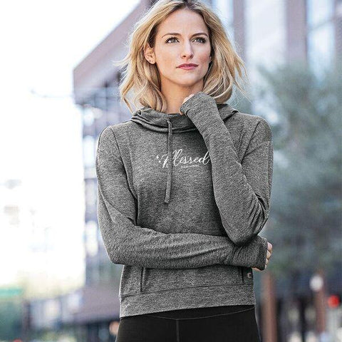 Blessed Ladies Athletic Hoodies