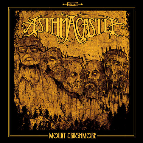 Asthma Castle - Mount Crushmore CD (PREORDER)