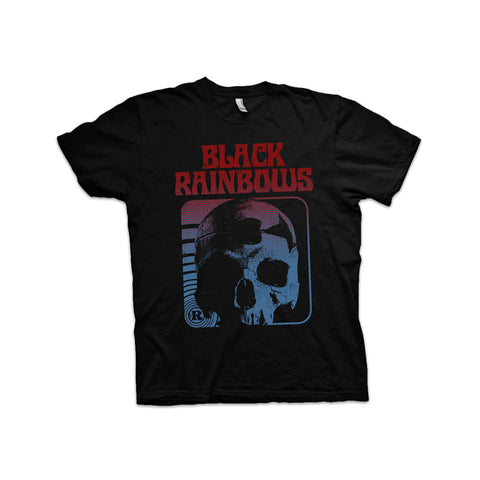 Black Rainbows - Skull (Blue/Red) T-shirt