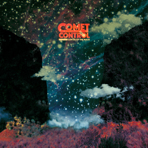 Comet Control - Center of the Maze Vinyl LP (Blue)