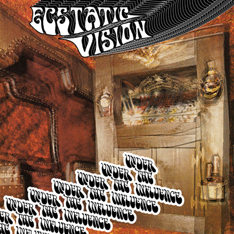 Ecstatic Vision - Under the Influence LP Vinyl (Splatter)