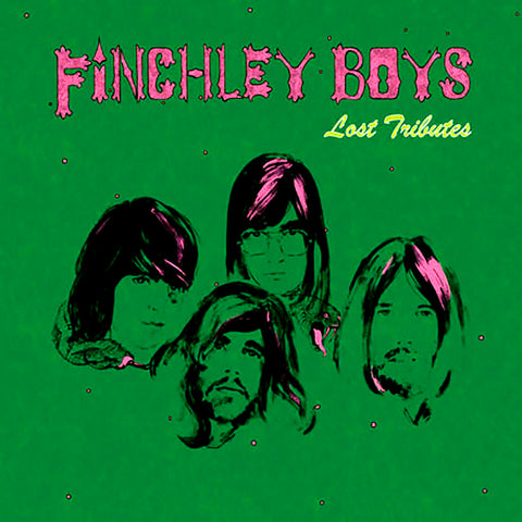 Finchley Boys - Lost Tributes LP Vinyl (Blue)