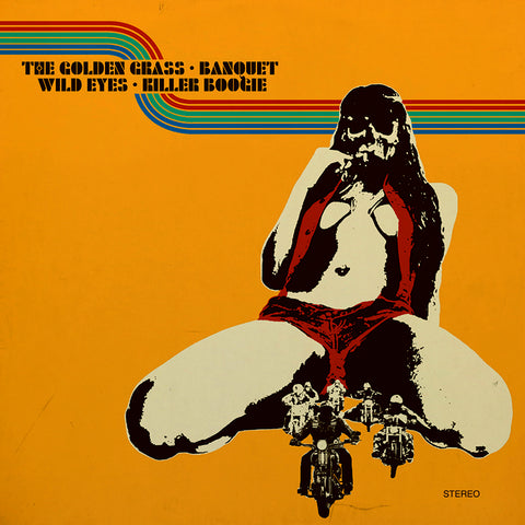 The Golden Grass/Banquet/Wild Eyes/Killer Boogie - 4 Way Split Vol. 2 Album
