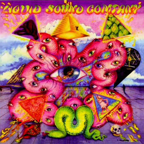 Liquid Sound Company - Exploring the Psychedelic LP Vinyl (Splatter)