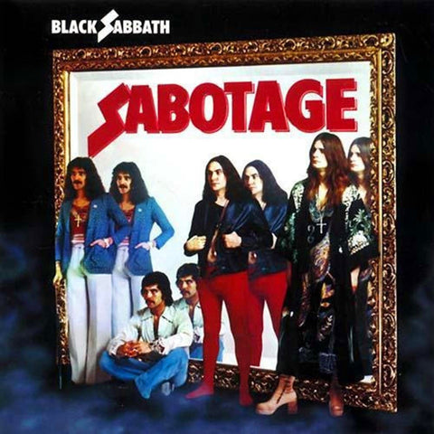 Black Sabbath - Sabotage LP Vinyl (Purple/180 gram)